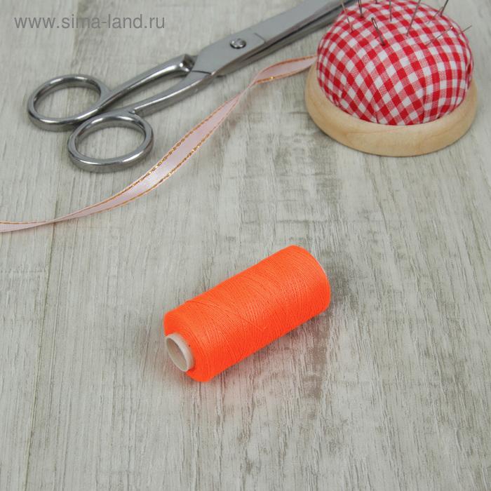 Нитки 40/2, 300м, №633, неон оранжевый