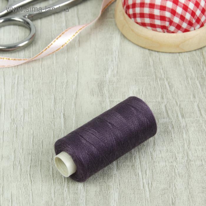 Нитки 40/2, 300м, №184, фиолетовый