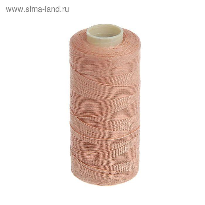Нитки 40/2, 300м, №101, бежево-розовый
