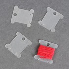 A set of bobbins for embroidery floss, 4 PCs of 3.6*4 cm, color MIX