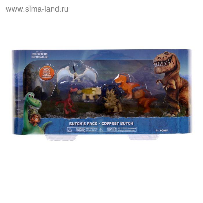 Игровой набор Good Dinosaur, 6 мини-фигурок, МИКС