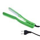 Щипцы-гофре LuazON LW-46, 35 Вт, 160 С, керамические пластины, зелёные