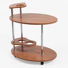 """Стол сервировочный """"Лили"""", цвет вишня оксфорд - фото 1625245"""