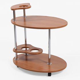 """Стол сервировочный """"Лили"""", цвет вишня оксфорд"""