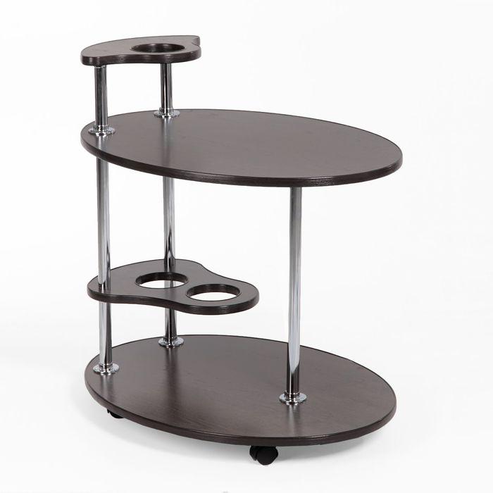 """Стол сервировочный """"Лили"""", цвет венге"""