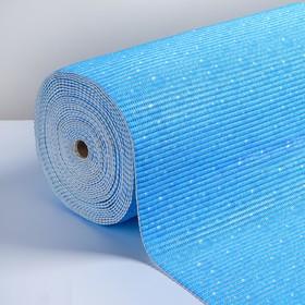 Коврик ПВХ «Пузырьки», 0,80×15 м, цвет голубой
