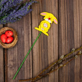 "A souvenir on a stick decor ""Bunny"""