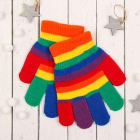 Перчатки молодёжные Collorista, размер 20