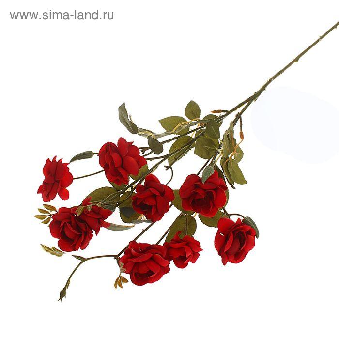 """Цветы искусственные """"Куст азалии"""" бордо"""