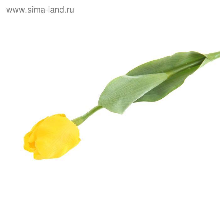 "Цветок искусственный ""Тюльпан Кореопсис"" жёлтый"