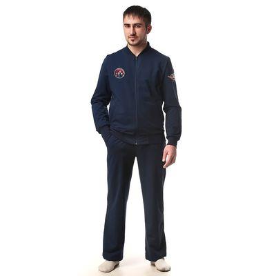 Костюм мужской (куртка+брюки) М-250-05 темно-синий, р-р 48