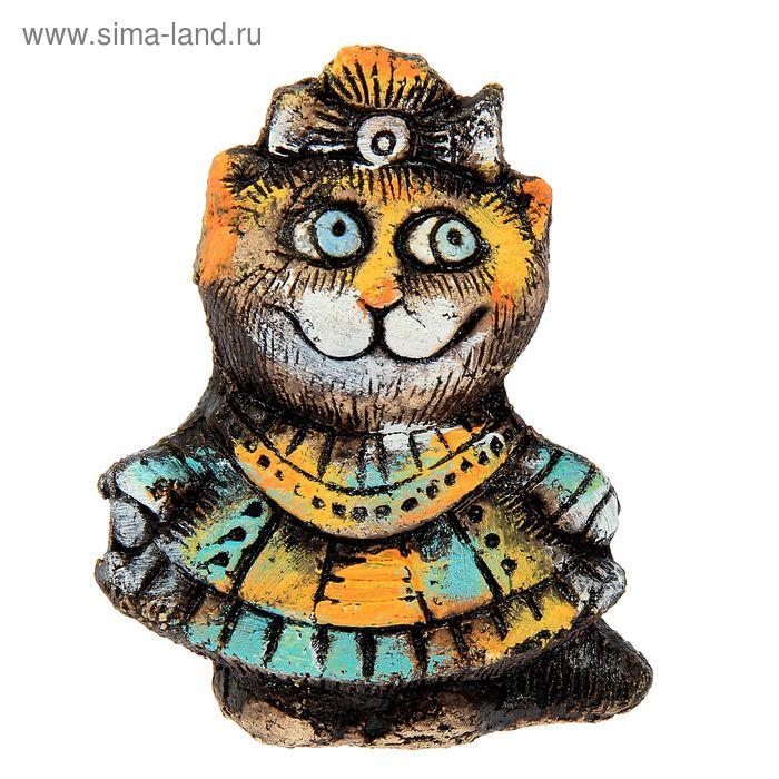 "Сувенир из шамота ""Кошка Принцесса"""