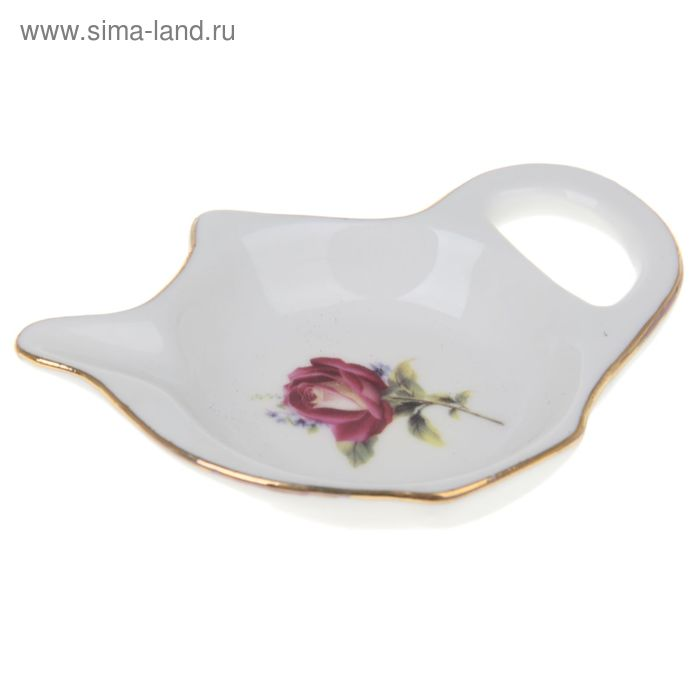 "Подставка под чайный пакетик 9х6,5 см ""Валентина"""