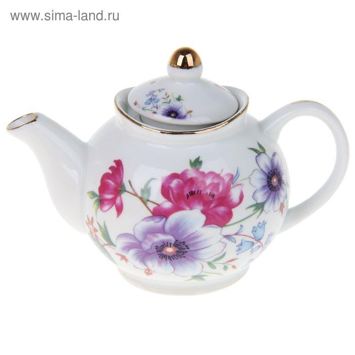 """Чайник заварочный 230 мл """"Луговые цветы"""""""