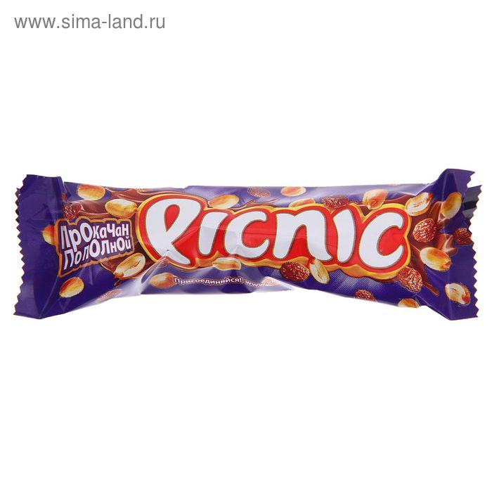 Батончик шоколадный Picnic, 38 г