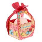 """Коробочка подарочная для яйца """"Со Светлой Пасхой"""" цветы"""