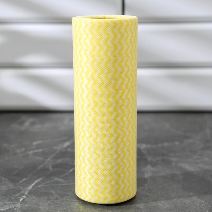 Рулон салфеток универсальных 20×40 см, вискоза, 25 шт, цвет МИКС - фото 1717161