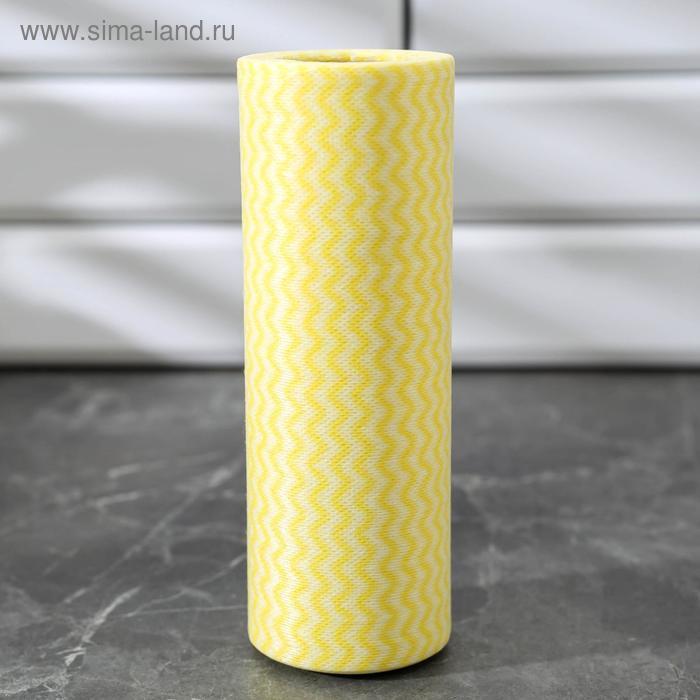 Roll napkins versatile, viscose, 20 x 40 cm, 25 PCs, MIX color