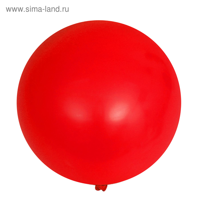 """Balloon latex 12"""", pastel, set of 15 PCs., color red"""