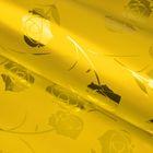 """Пленка голография """"Цветы"""", золотой, 70 х 100 см"""