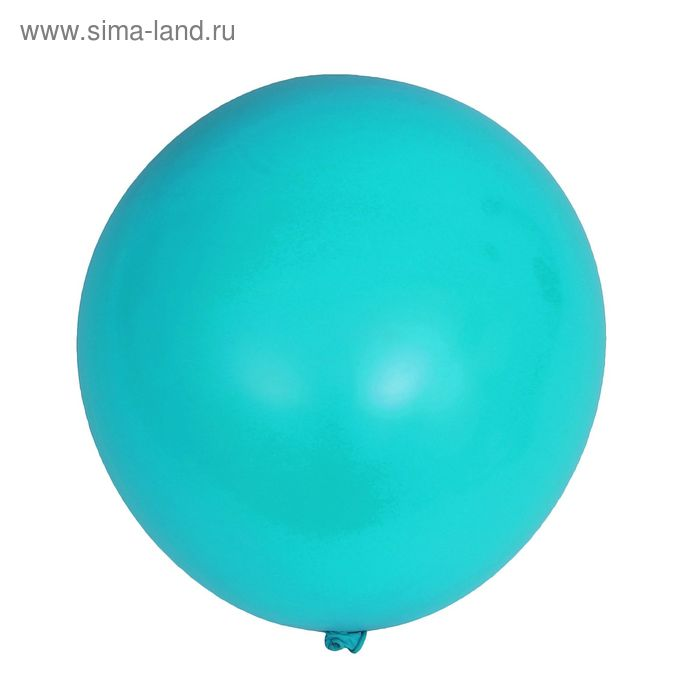 """Latex balloon 12"""" pastel set 15 PC., color turquoise"""