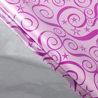 Paper holographic Pattern, color raspberry