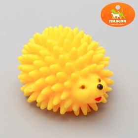 """Squeaky toy """"Hedgehog"""" is large, 9.5 cm, mix colors"""
