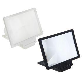 Увеличительное стекло для телефона LuazON, эффект телевизора, микс