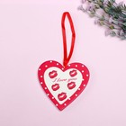 "Pendant decor ""Heart. I love you"""