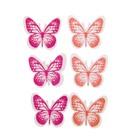 "Наклейки-декор из дерева ""Бабочки"", набор 6 шт."