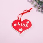 "Pendant decor ""Heart kisses"""