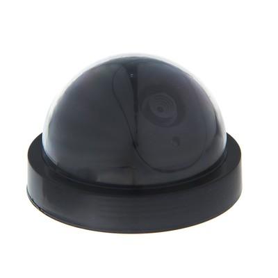 Муляж видеокамеры VM-1, со светодиодным индикатором, 2АА (не в компл.), чёрный