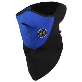 Protective mask for the face, fleece,100% of the time.universal mix color