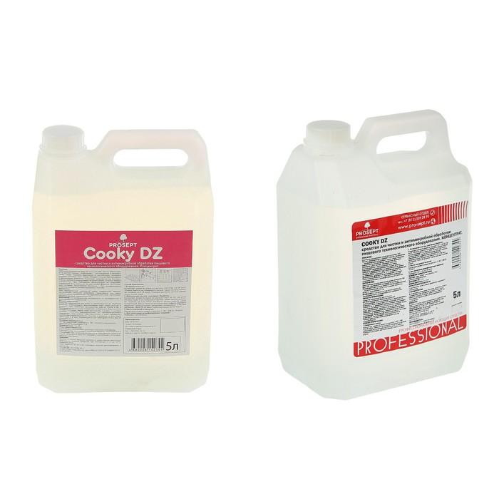 Средство для чистки и дезинфекции пищевого оборудования Cooky  DZ. Концентрат, 5л