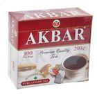 Чай черный Akbar, байховый, 100 пакетиков*2 г