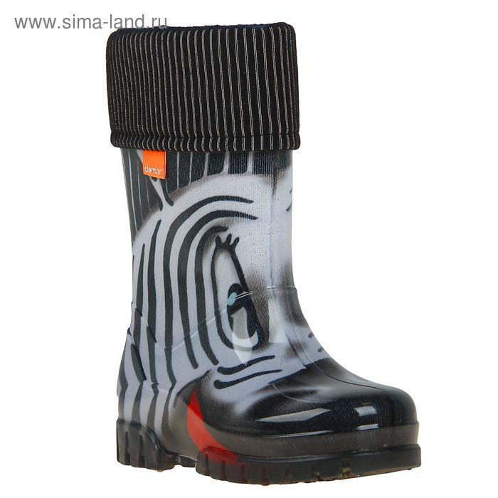 Сапоги резиновые Demar zebra 0038 S (р. 20/21)