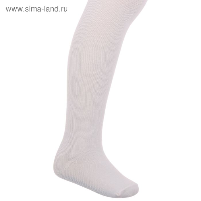 Колготки детские, размер 12, рост 86-92 см, цвет кремовый