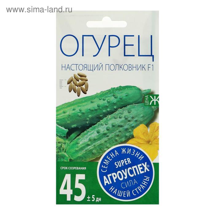 Семена Огурец Настоящий полковник F1, ранний, партенокарпический, 10 шт