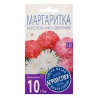 Семена цветов Маргаритка Монстроза смесь, двулетник, 0,1 гр