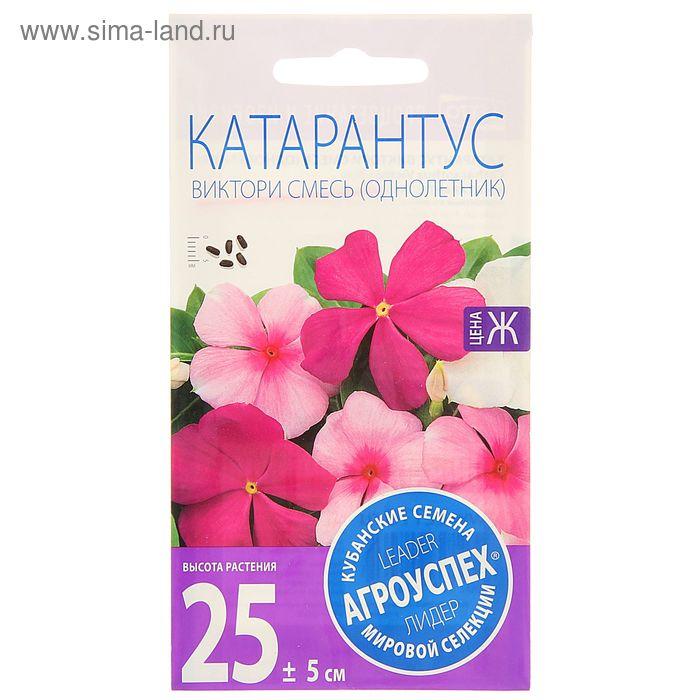 Семена цветов Катарантус Виктори смесь, однолетник, 10 шт