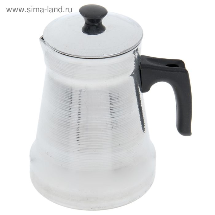 """Кофейник 1 л """"Полированный"""", с крышкой и ручкой"""
