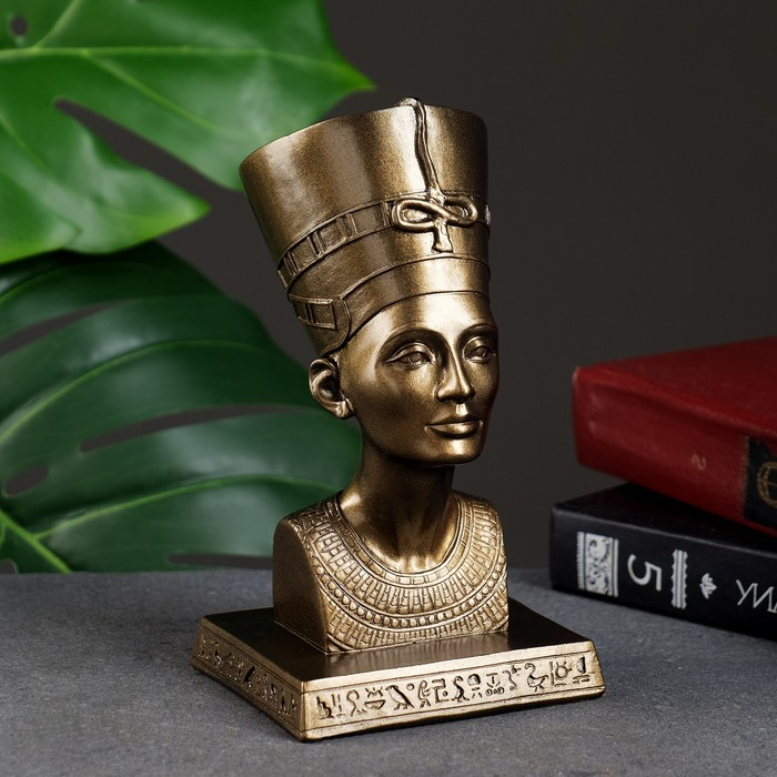 """Статуэтка """"Нефертити"""" золото"""