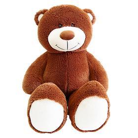 Мягкая игрушка «Мишка Барни», 105 см, цвет коричневый