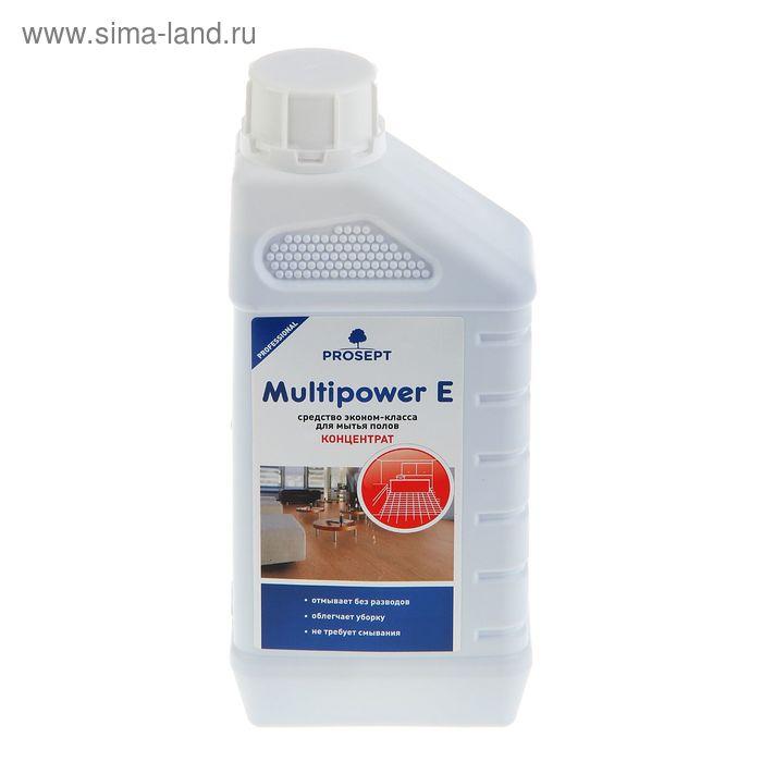 Средство для мытья полов всех типов Multipower E . Концентрат, 1л