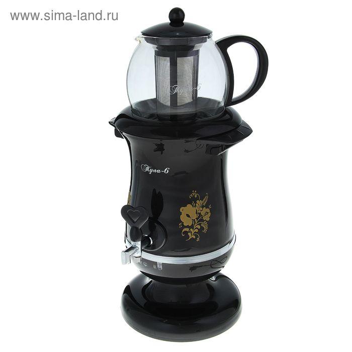 """Самовар электрический """"Великие Реки"""" Тула-6, 2200 Вт, 2.5 л + чайник 1.2 л"""
