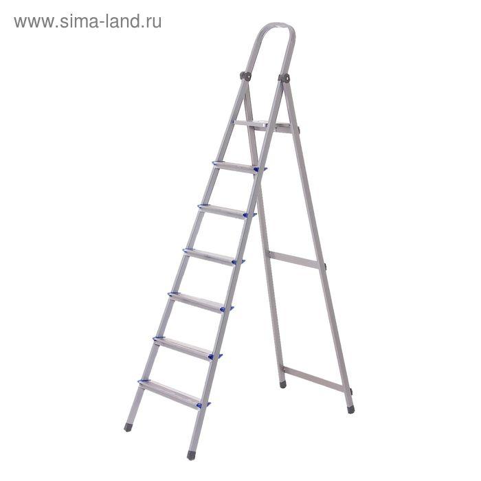 УЦЕНКА Стремянка алюминиевая TUNDRA basic, 7 ступеней
