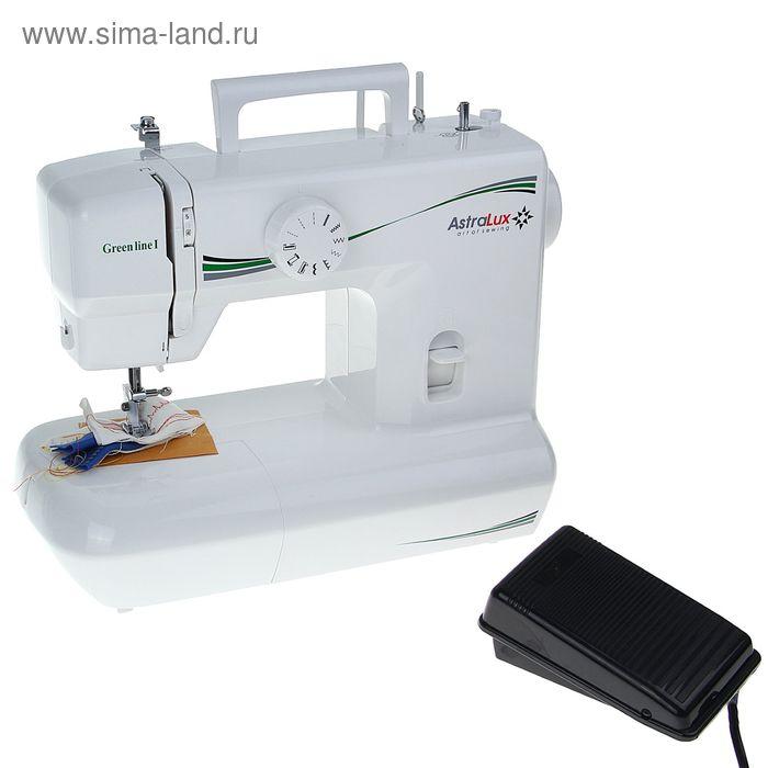 Швейная машина Astralux Greenline I (зеленый)