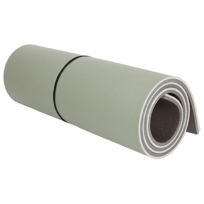 Ковёр туристический, размер 1,8х0,6 м, цвет серый/хаки