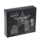 Парфюмированный набор Antonio Banderas Seduction In Black Man: Туалетная вода, 50 мл + бальзам после бритья, 100 мл