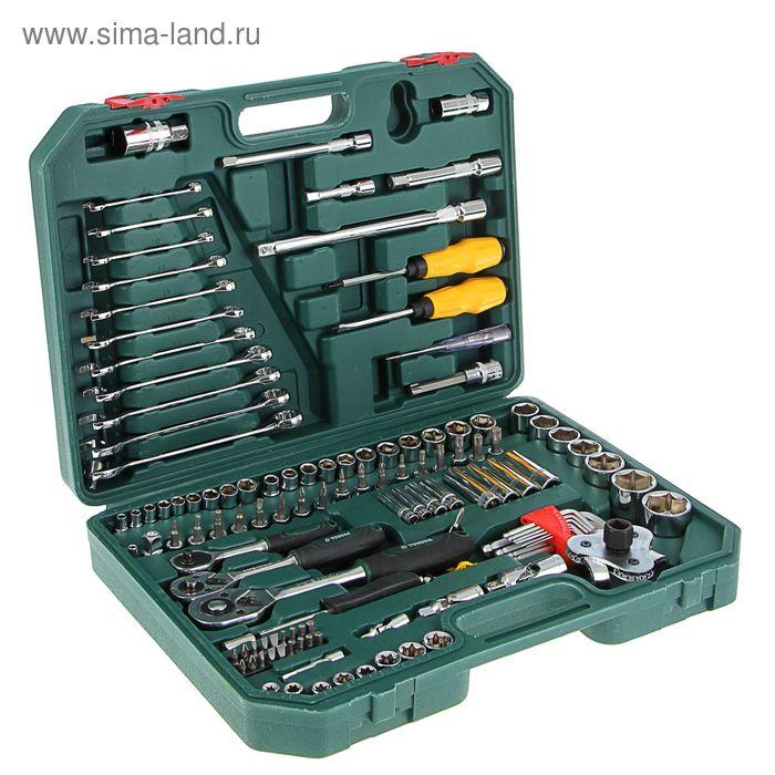 Набор инструмента TUNDRA Premium универсальный в кейсе 123 предмета